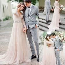 pink lace wedding dress vintage blush pink lace wedding dress sleeve v neck bridal