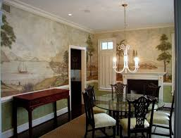 143 best colonial and primitive wall murals and paintings images