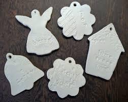 create inspire paper clay ornaments