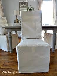 Best Slip Covers Images On Pinterest Dining Room Dining - Dining room chair slip covers