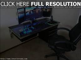 Custom Gaming Desks Terrific Custom Gaming Computer Desk Ideas Best Ideas Interior