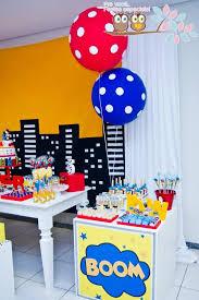 Superman Birthday Party Decoration Ideas 822 Best Superhero Birthday Party Ideas Images On Pinterest