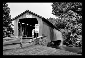 covered bridges of pennsylvania in black and white by tom hildreth