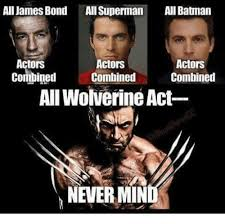 Actor Memes - all james bond all superman ani batman actors actors actors combined