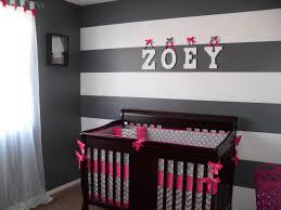 Grey Chevron Crib Bedding Set Crib Bedding Set Fuchsia And Gray Chevron Deposit