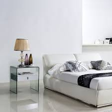 High Gloss Side Table Bari Side Table White High Gloss Casabianca Touch Of Modern