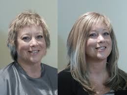 hair extensions for short hair before and after add volume to your thinning hair at the hair specialists hudson ohio