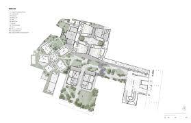 Amphitheater Floor Plan by Cineteca Nacional Rojkind Arquitectos