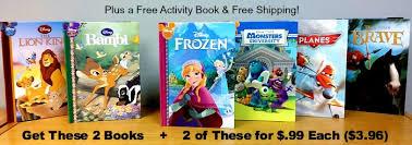 4 disney books 99 free activity book frozen