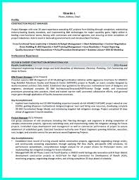 Project Control Officer Resume Thesis Sentence Example How Do You Construct A Resume University