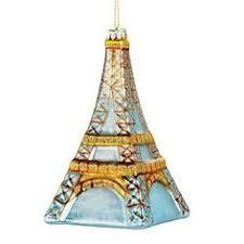 eiffel tower tree ornament