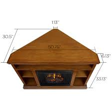 Amish Electric Fireplace Fireplace Amish Oakctric Fireplace With Bookcase Inch Tv Stand