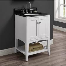 fairmont designs bathroom vanities fairmont designs shaker americana 24 open shelf vanity polar white