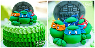 tmnt cake mutant turtle inspired birthday party deliciously