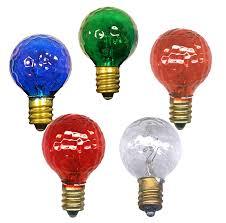 light bulbs colored u0026 clear round candelabra base national