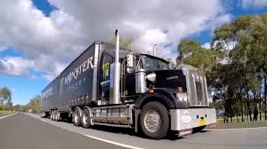 kenworth truck logo kenworth monster truck on the hume highway youtube