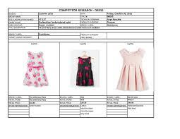 Macy S Children S Clothes Little Dress Tech Pack On Behance