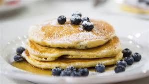 lemon blueberry ricotta pancakes today com