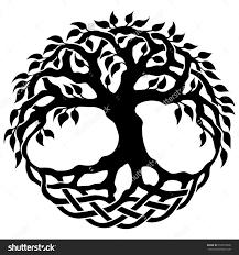 vector ornament decorative celtic tree of stock vector
