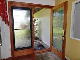 custom etched glass doors mdesign hawaii custom woodworks mahogany wood etched glass door
