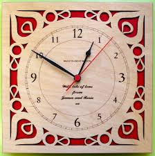 Personalized Wedding Clocks Engraved Wall Clock For Ideas U2013 Wall Clocks