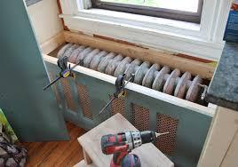 kitchen radiator ideas radiator cover window seat velcromag home decor ideas