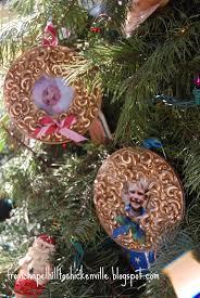 chickenville macaroni photo ornament