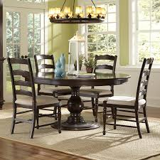 Hayley Dining Room Set Round Table With 5 Chairs Starrkingschool