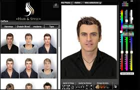 simulateur de coupe de cheveux homme logiciel de coiffure virtuelle coupe cheveux