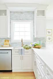 summer coastal kitchen sand and sisal