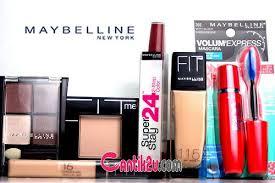 Satu Set Alat Make Up Wardah harga promo katalog produk maybelline kosmetik indonesia 2018