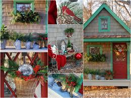 potting shed christma home boat outdoor christmas decorations