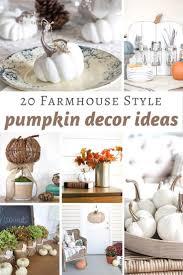 farmhouse style pumpkin decor ideas refresh restyle