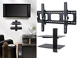 Tv Floating Shelves by Wall Shelves Design Sophisticated Tv Wall Mount With 2 Shelves