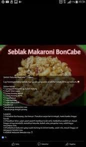 cara buat seblak pakai magic com rujak cingur recipe indonesia indonesian cuisine and beverage