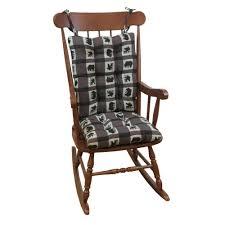 Rocking Chairs At Walmart Gripper Omega Ivory Jumbo Rocking Chair Cushion Set 849307xl 20
