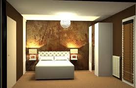 trompe l oeil chambre papier peint pour chambre à coucher hexoa