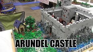 siege social lego lego arundel castle moc