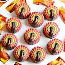 oreo stuffed turkey cookies miss celebration