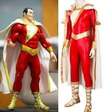 Captain Marvel Halloween Costume Shazam Captain Marvel William Joseph Billy Batson Cosplay Costume
