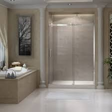 ckb frameless smooth gliding shower door 60