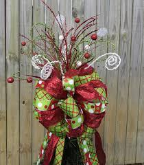 White Bows For Tree Tree Topper For Tree Topper Glitter Tree