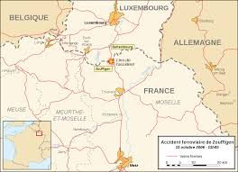 Metz France Map by Zoufftgen Train Collision Wikipedia