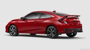cars honda civic si wallpaper 2017 honda civic si coupe rear three quarter hd wallpaper 9