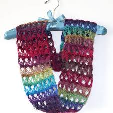 broomstick lace infinity scarf shop broomstick lace crochet on wanelo