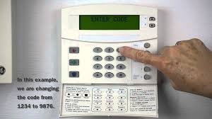protec home security systems changing the master code on a ge