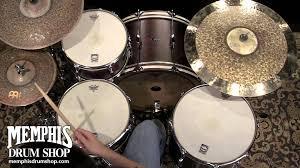 c u0026c custom player date ii big band rock drum set 24 13 16 brown