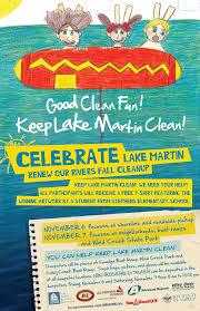 help clean up lake martin at renew our rivers 2015 u2013 lake martin