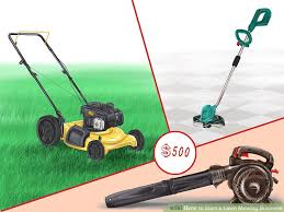 Mowing Business Cards How To Start A Lawn Mowing Business With Pictures Wikihow