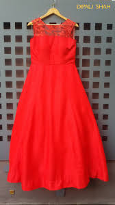 smart looking for a gown style indian wedding dress fashion